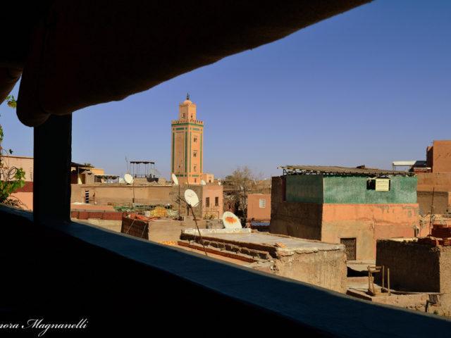 Marocco Minareto