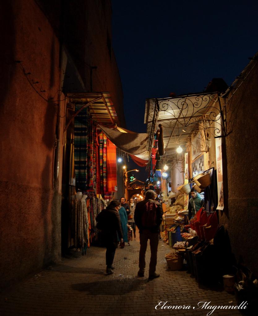 Suq di Marrakesh