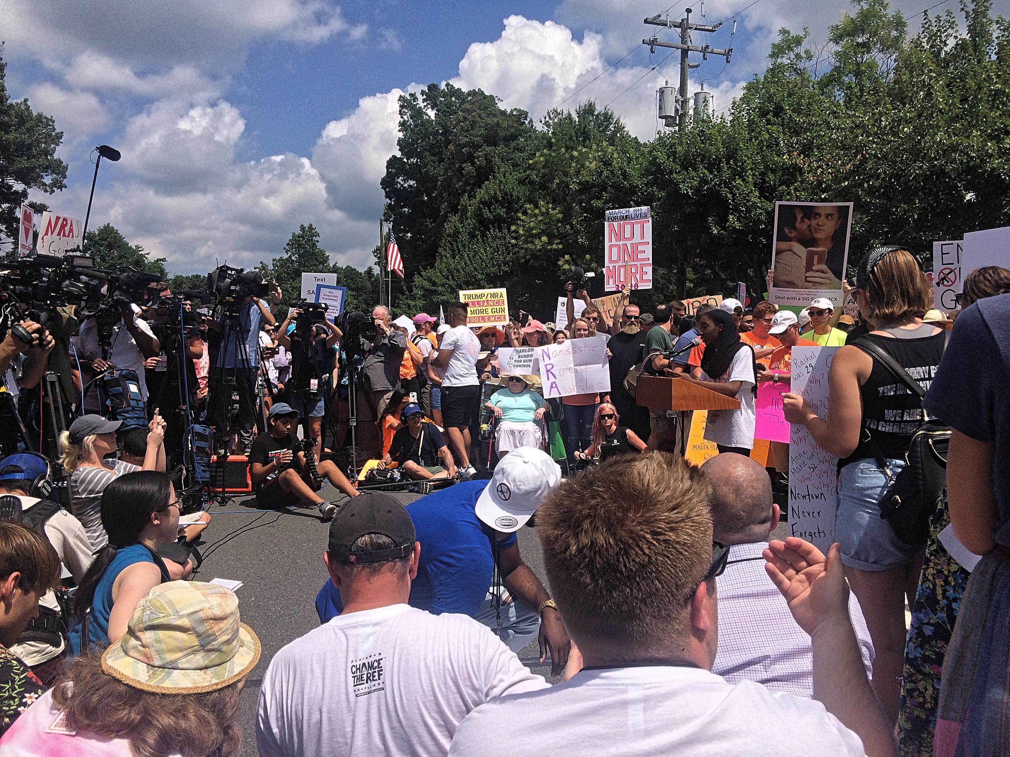 NRA rally