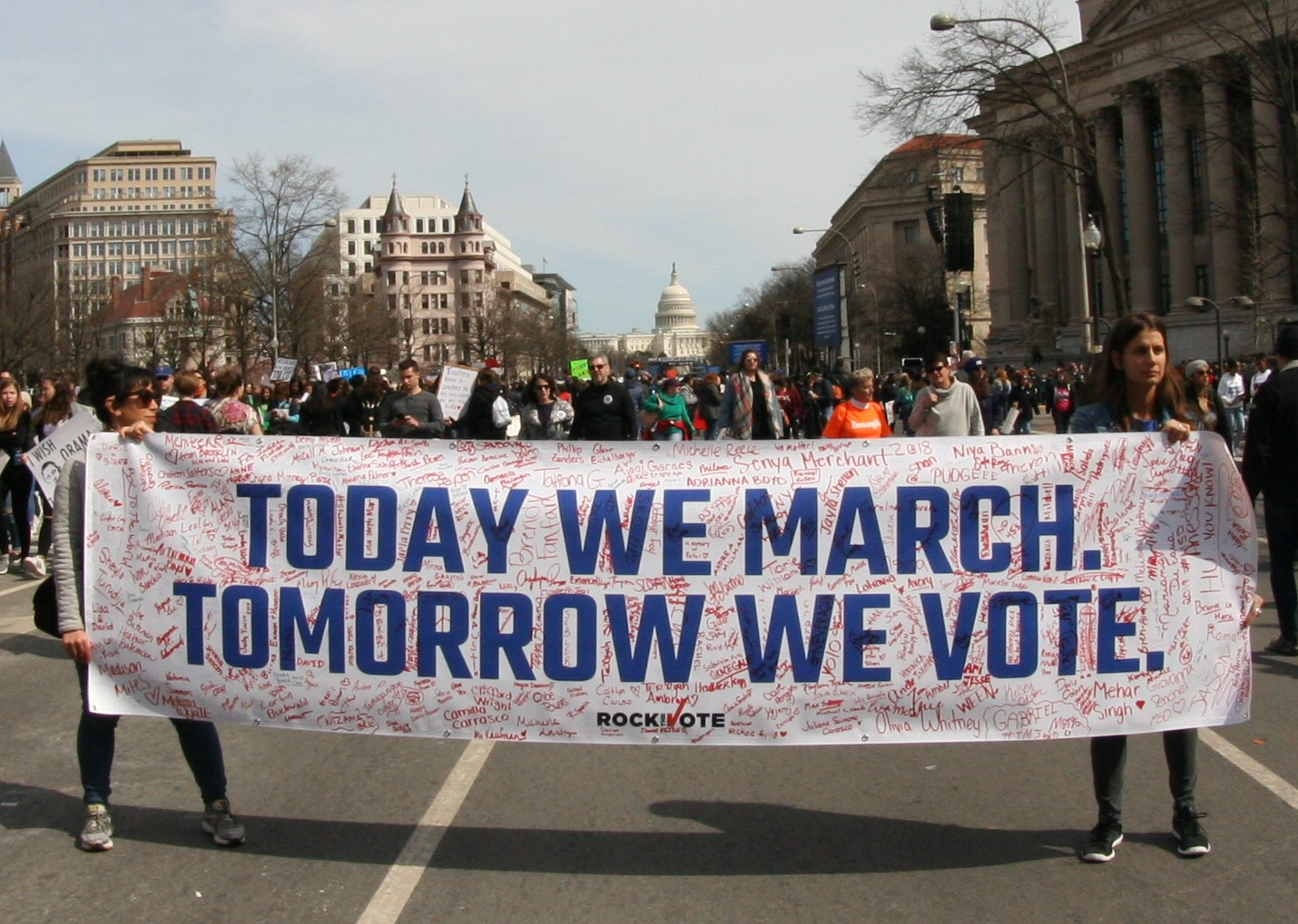 Tomorrow_We_Vote_(March_For_Our_Lives_rally_in_DC)_(41053107042)