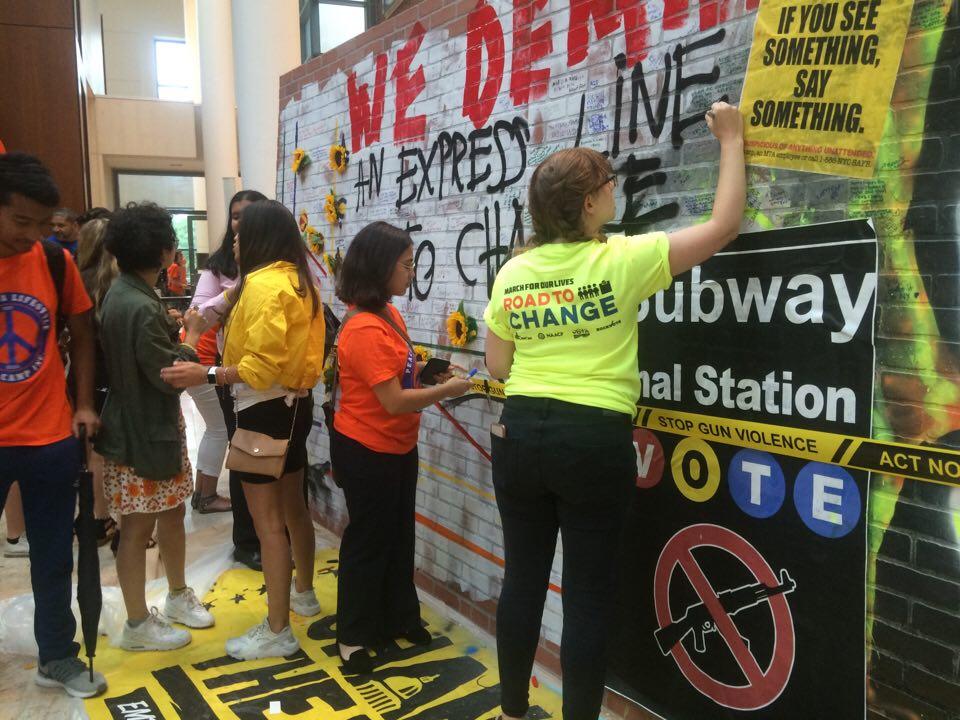 giovani volontari nel Bronx